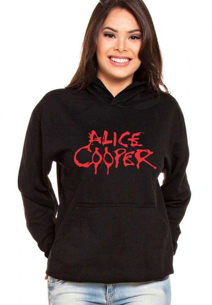 Moletom Canguru Feminino Alice Cooper ER_079