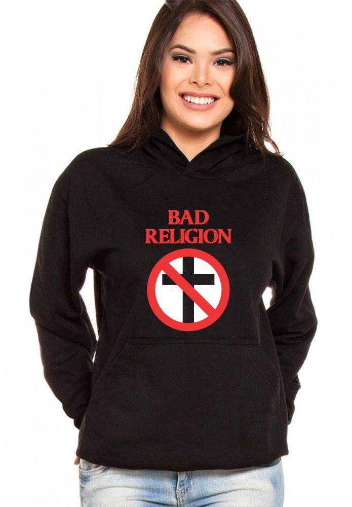 Moletom Canguru Feminino Bad Religion ER_081