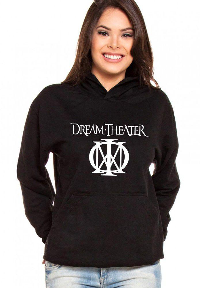Moletom Canguru Feminino Dream Theater ER_068