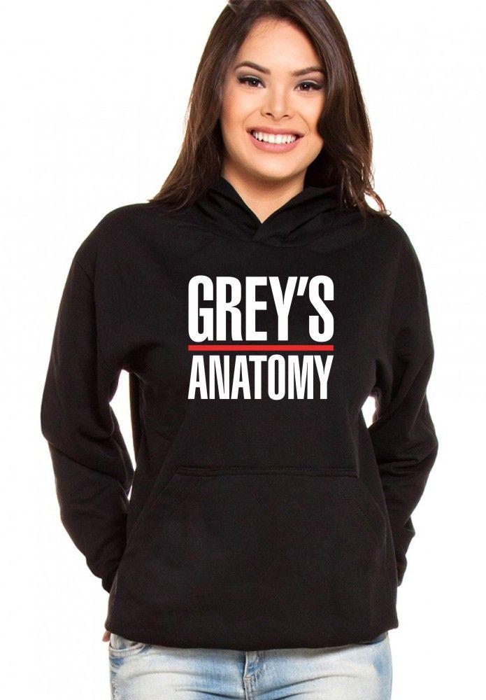 Moletom Canguru Feminino Grey's Anatomy ER_036