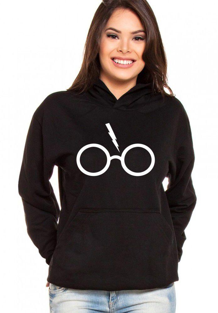 Moletom Canguru Feminino Harry Potter Glass ER_131