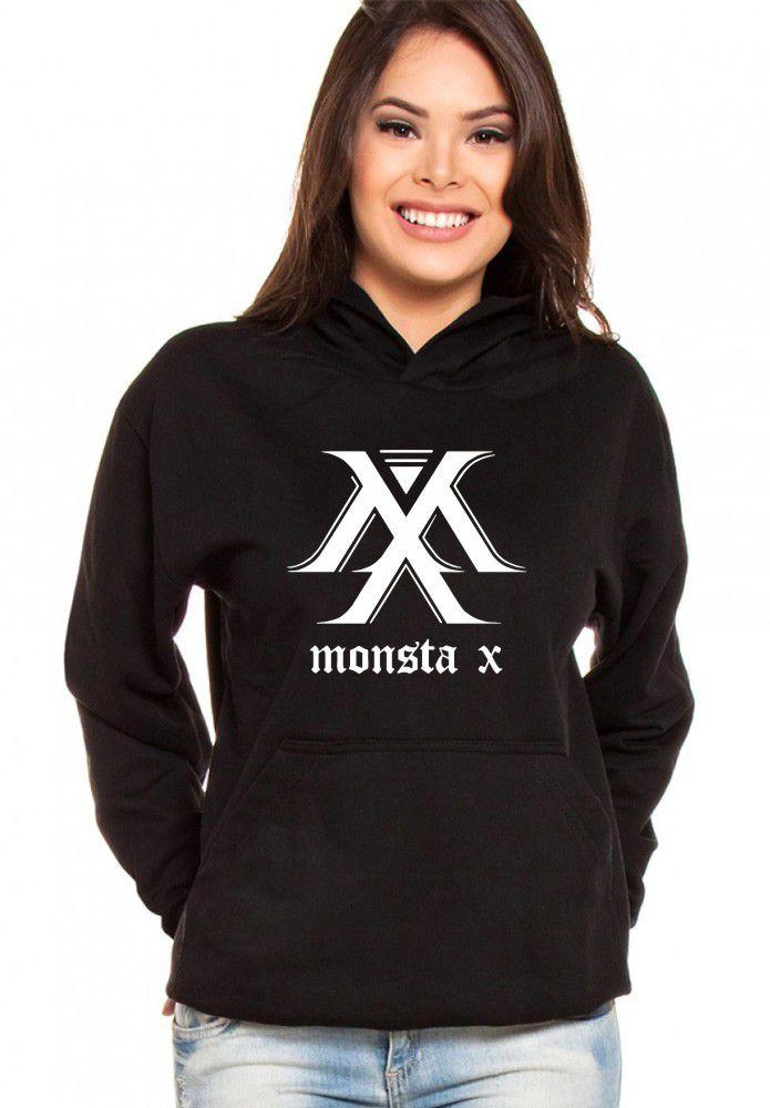 Moletom Canguru Feminino Kpop Monsta X ER_132