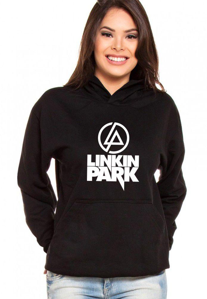 Moletom Canguru Feminino Linkin Park ER_069