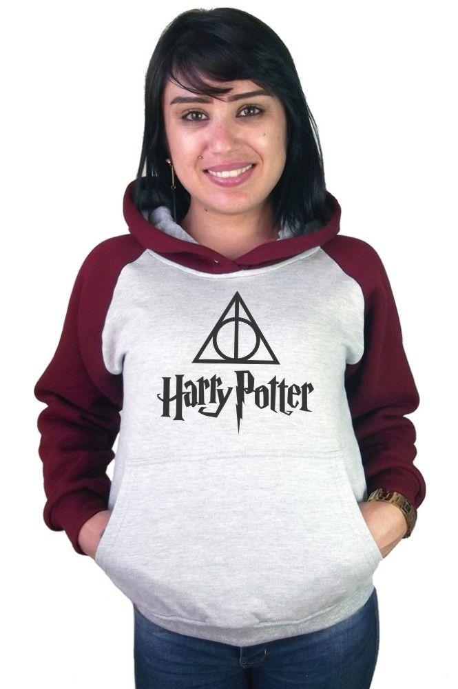 Moletom Canguru Feminino Raglan Harry Potter ER_038