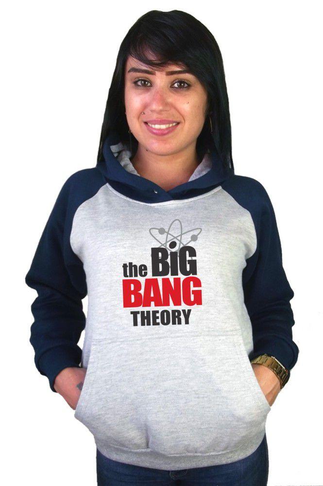 Moletom Canguru Feminino Raglan The Big Bang Theory ER_089