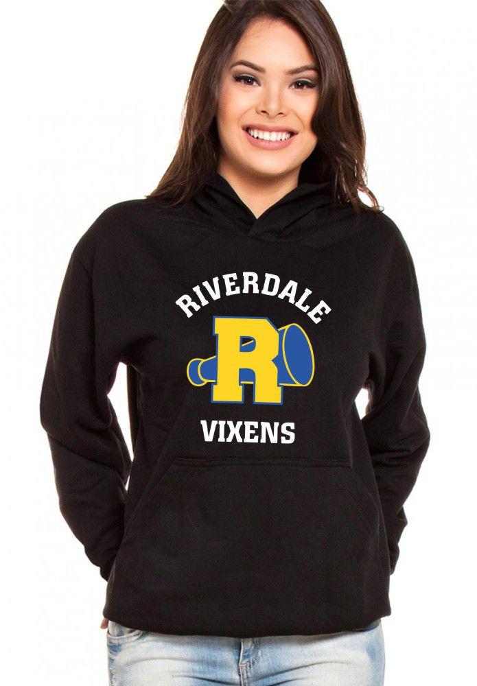 Moletom Canguru Feminino River Vixens Série Riverdale
