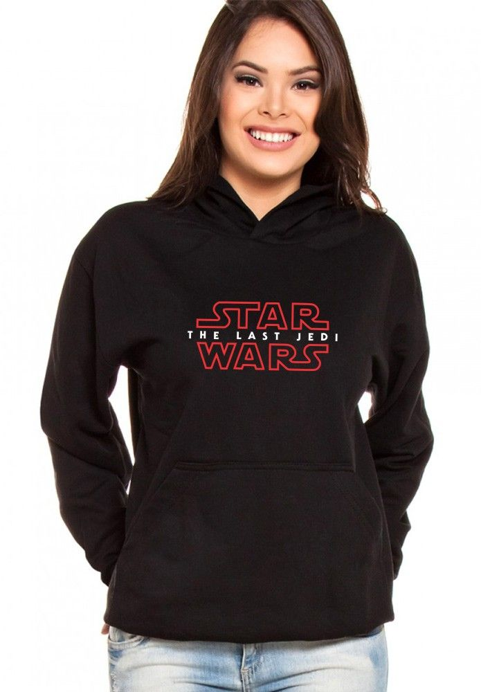 Moletom Canguru Feminino Star Wars The Last Jedi ER_035