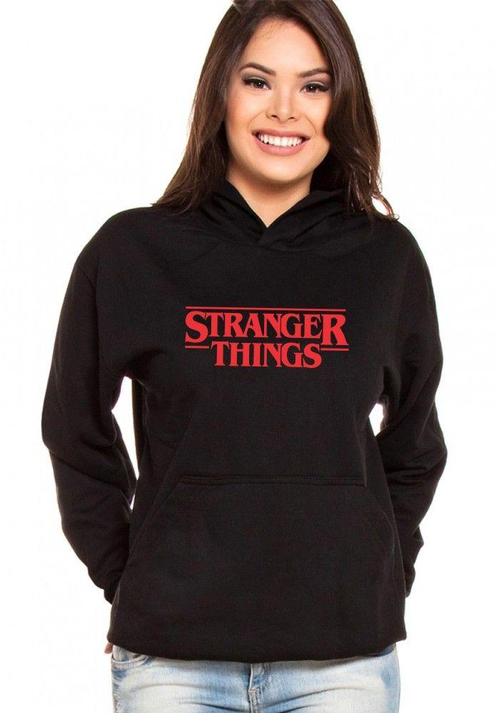 Moletom Canguru Feminino Stranger Things ER_039