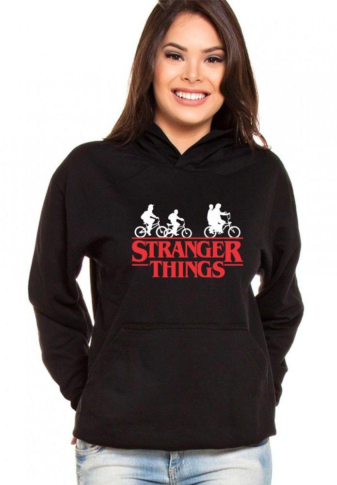 370a6d99f Moletom Canguru Feminino Stranger Things ER 050