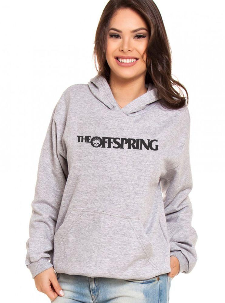 Moletom Canguru Feminino The Offspring Logo ER_029