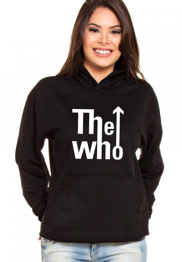 Moletom Canguru Feminino The Who Logo ER_032
