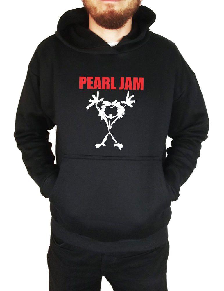 Moletom Canguru Masculino Banda Pearl Jam ER_062