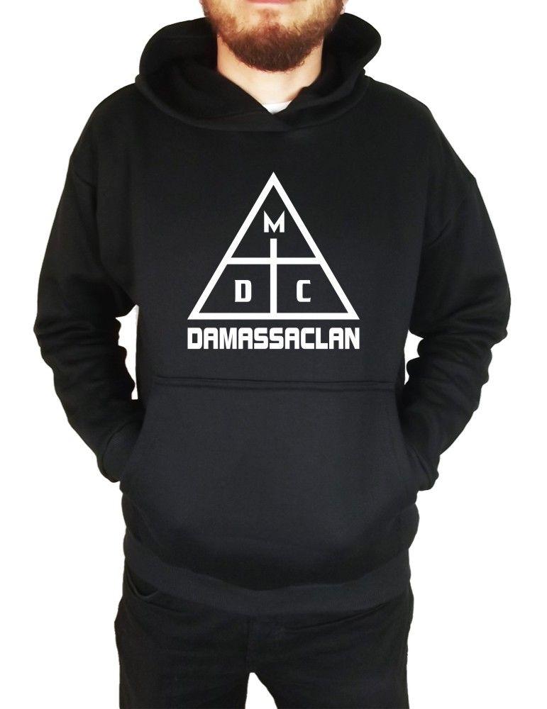 Moletom Canguru Masculino DMC Damassaclan ER_055