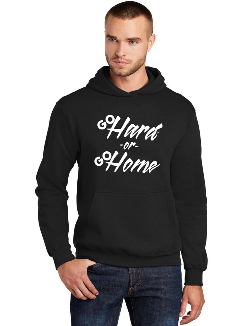 Moletom Canguru Masculino Go Hard Or Go Home ER_153