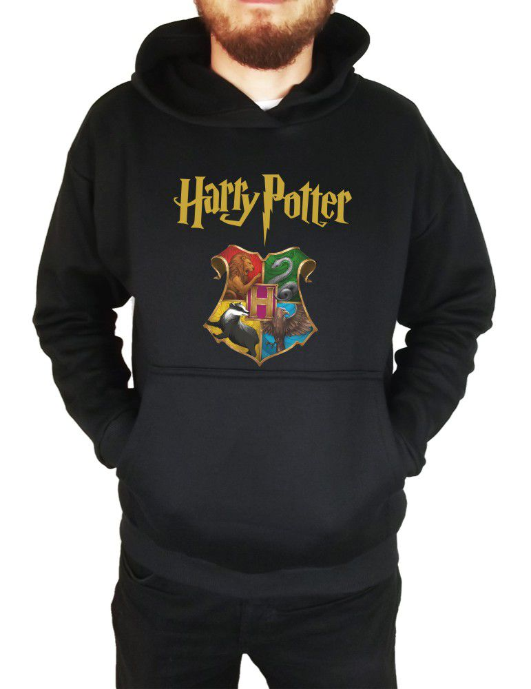 Moletom Canguru Masculino Harry Potter Hogwarts ER_115