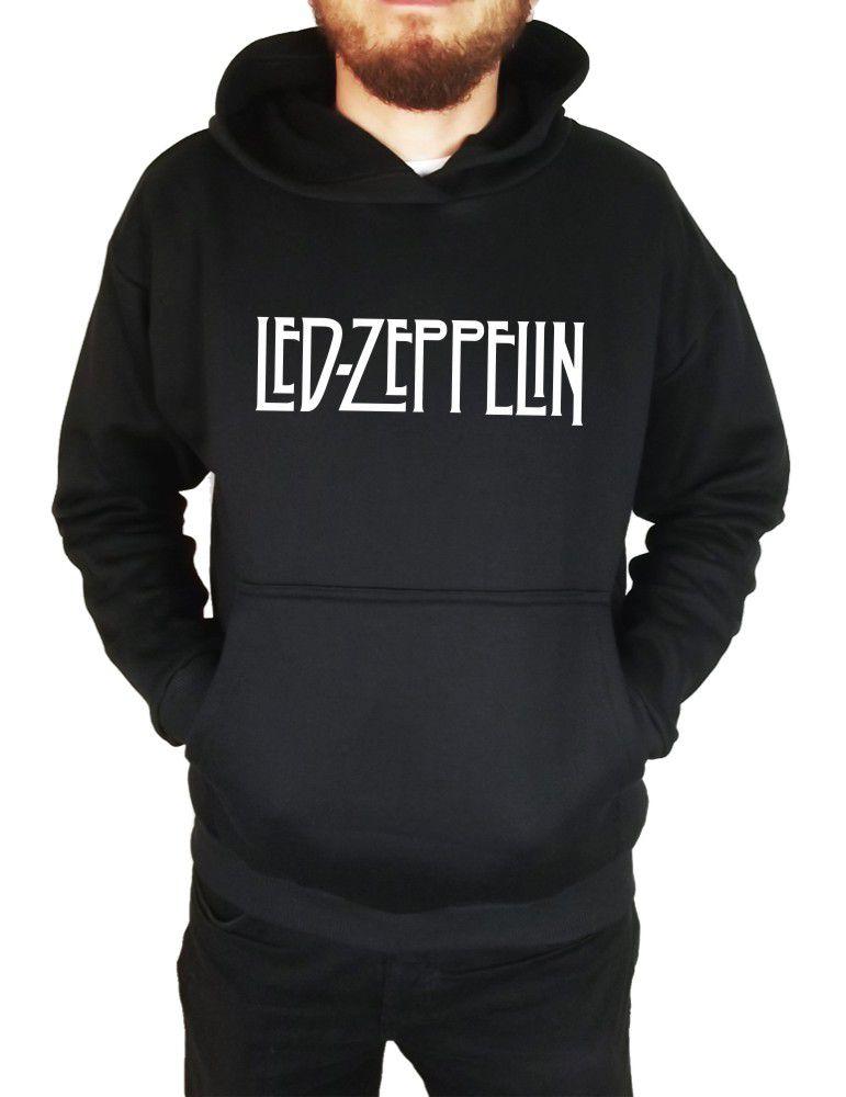 Moletom Canguru Masculino Led Zeppelin ER_075