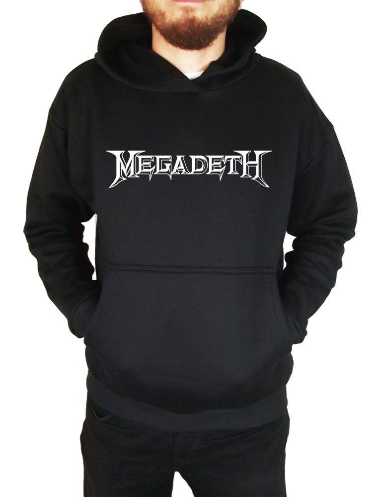 Moletom Canguru Masculino Megadeth ER_072