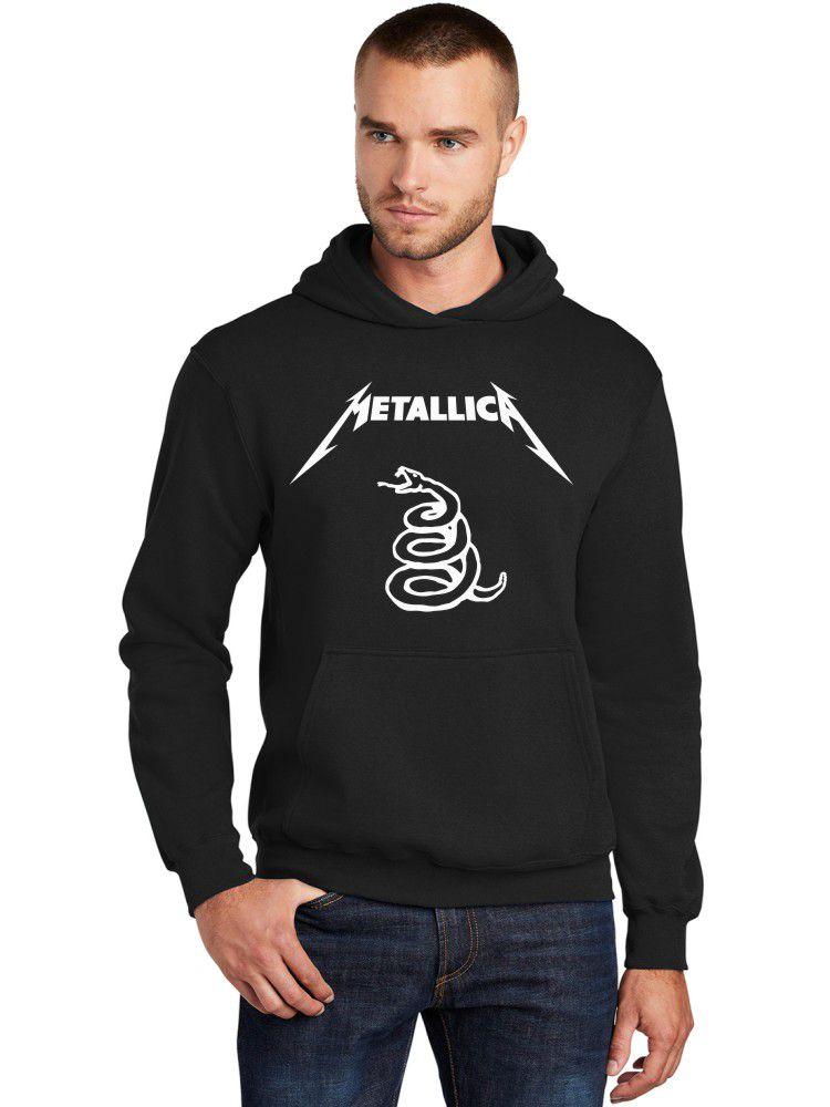 Moletom Canguru Masculino Metallica Black Álbum ER_120