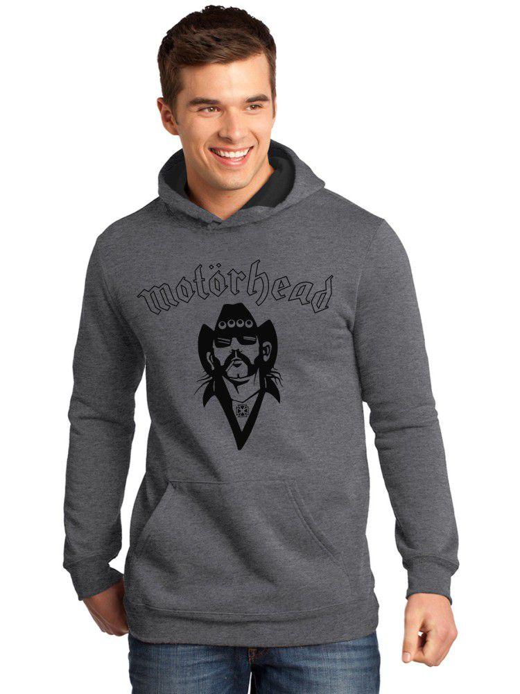 Moletom Canguru Masculino Premium Lemmy Banda Motorhead ER_161