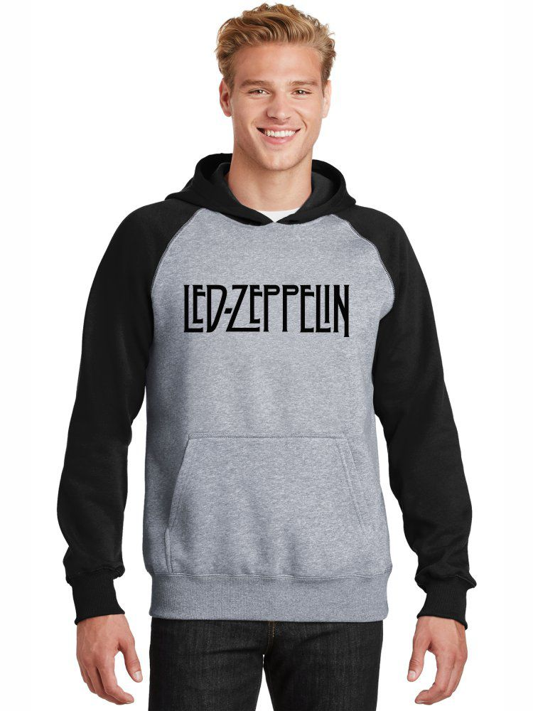 Moletom Canguru Masculino Raglan Banda Led Zeppelin ER_075