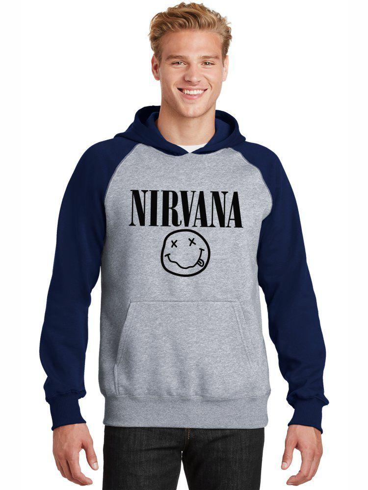 Moletom Canguru Masculino Raglan Banda Nirvana ER_012