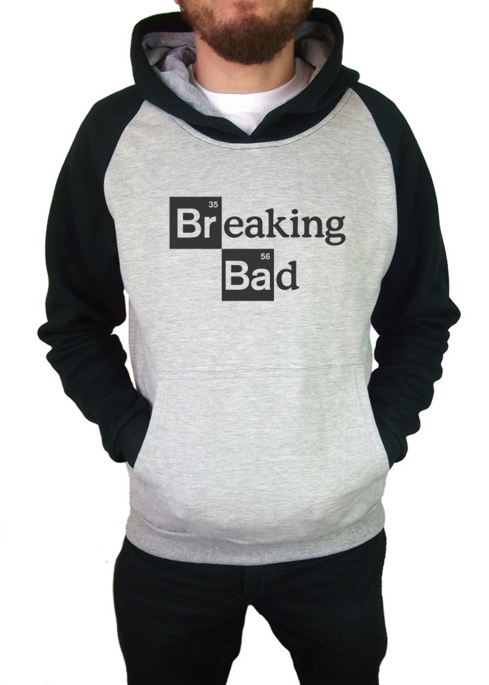 Moletom Canguru Masculino Raglan Breaking Bad ER_045