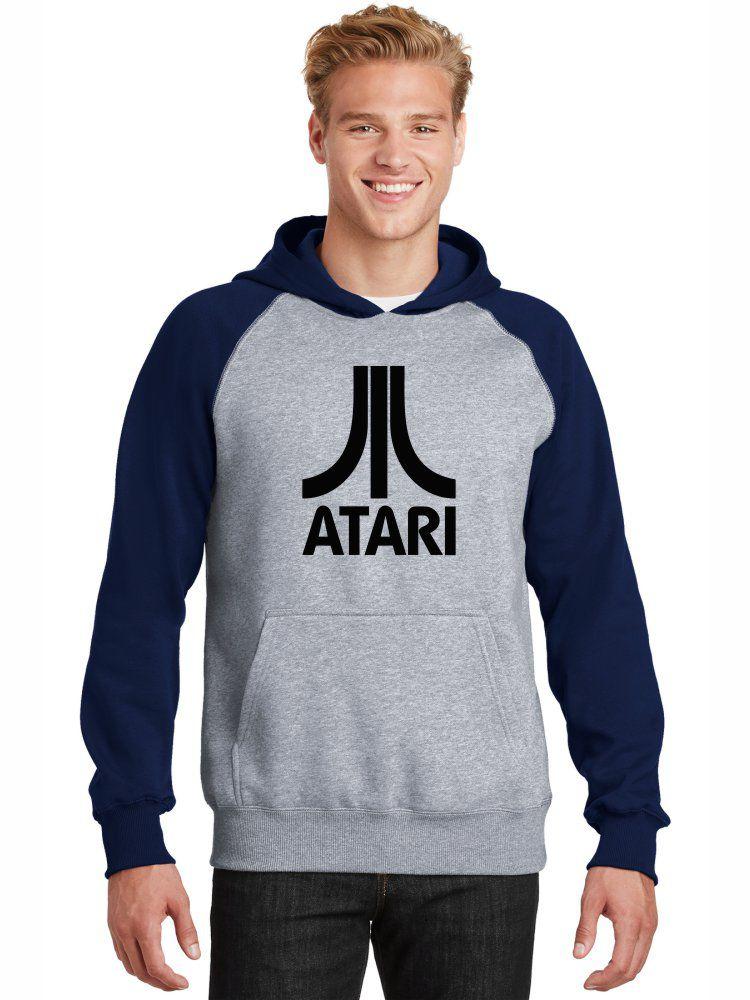 Moletom Canguru Masculino Raglan Divertido Retrô Atari ER_091