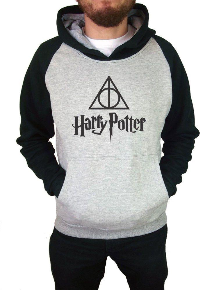 Moletom Canguru Masculino Raglan Harry Potter ER_038
