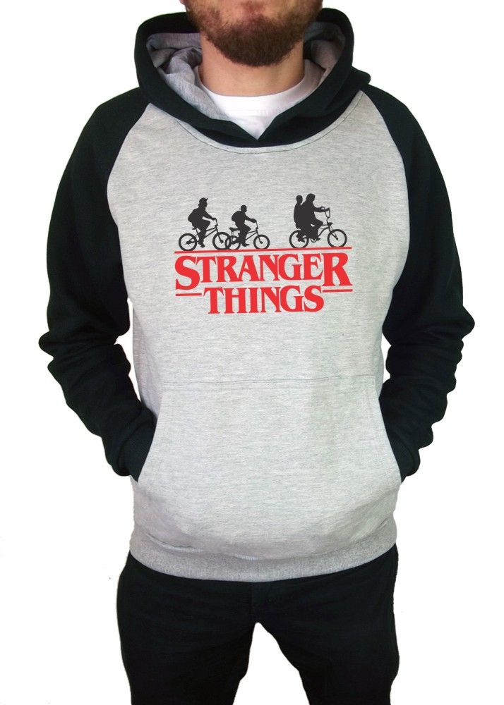 Moletom Canguru Masculino Raglan Stranger Things ER_050