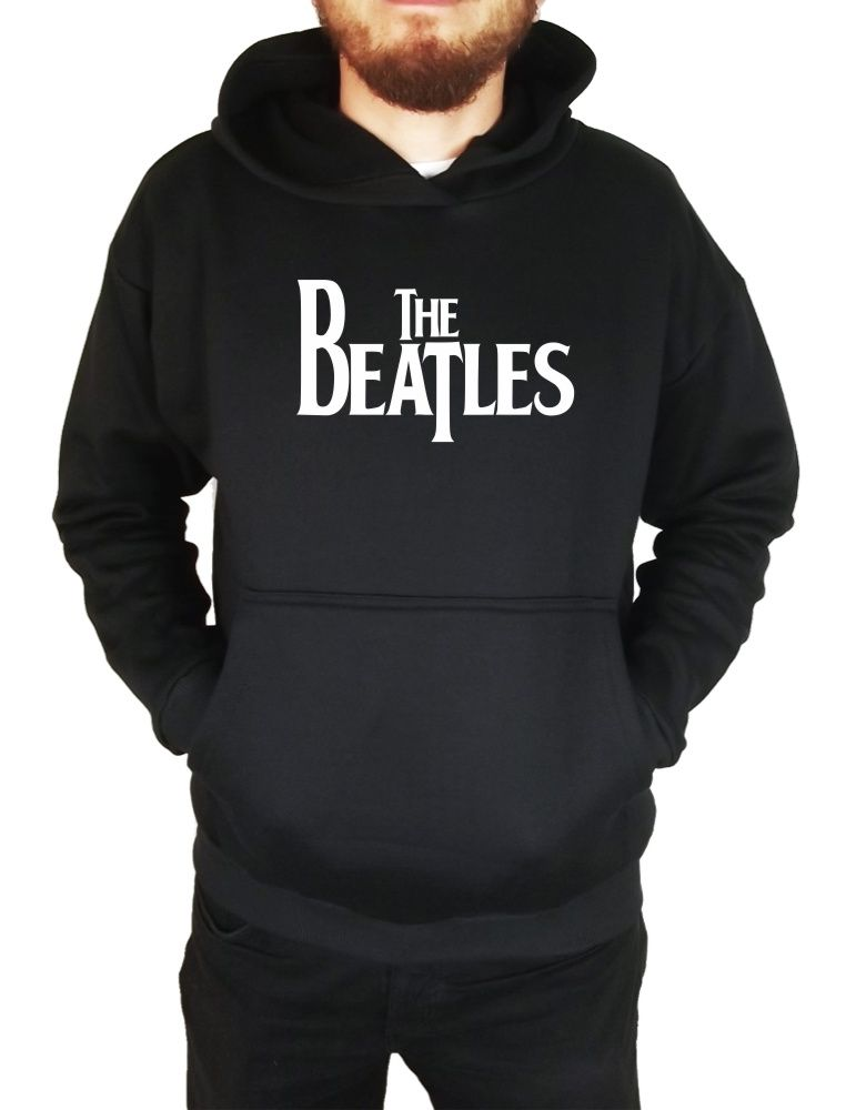 Moletom Canguru Masculino The Beatles Logo ER_033