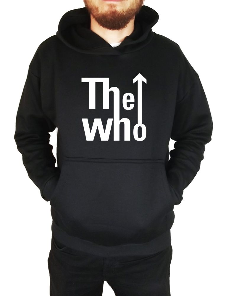 Moletom Canguru Masculino The Who Logo ER_032