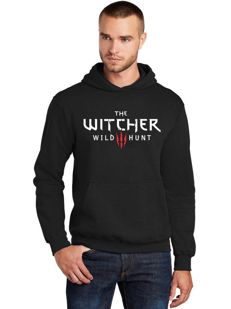 Moletom Canguru Masculino The Witcher Wild Hunt ER_156