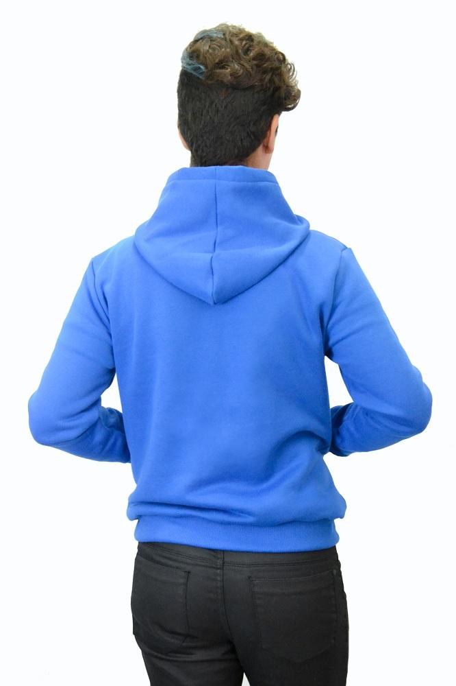 Moletom Masc Slim Swag Azul