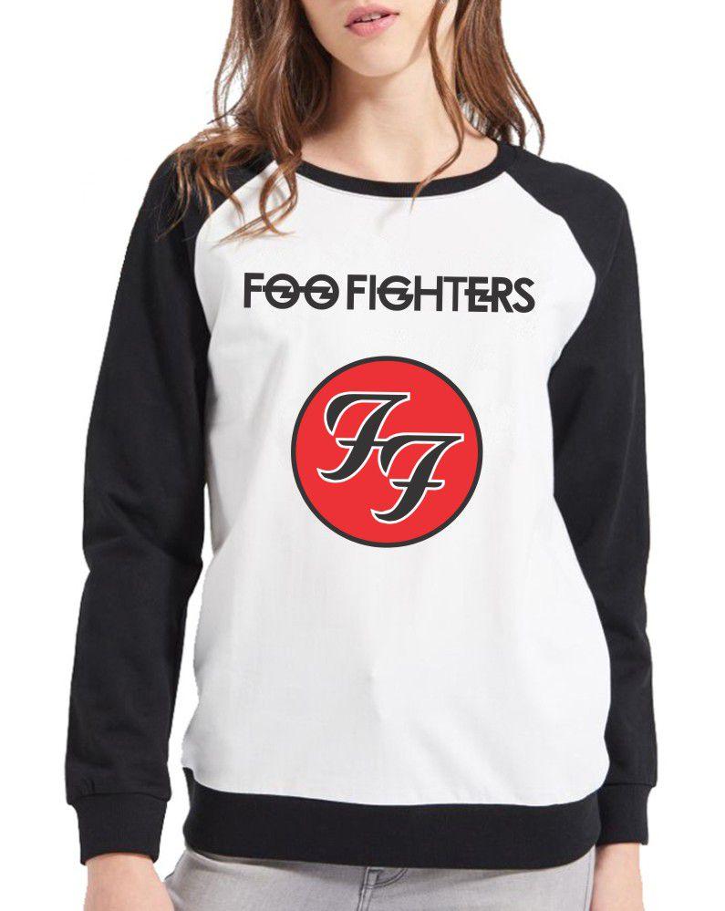 Moletom Raglan Feminino Foo Fighters ES_106