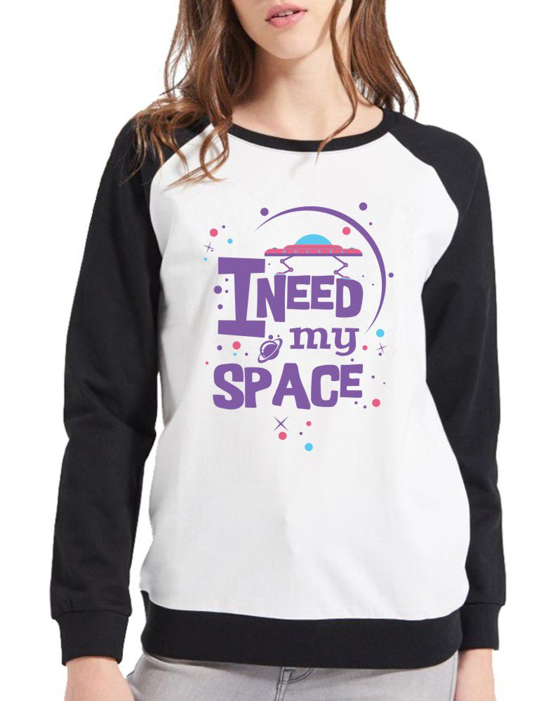 Moletom Raglan Feminino I Need My Space ES_119