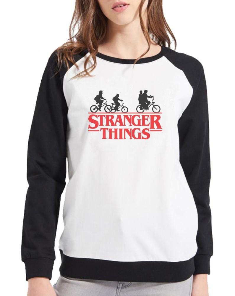 Moletom Raglan Feminino Série Stranger Things ES_096