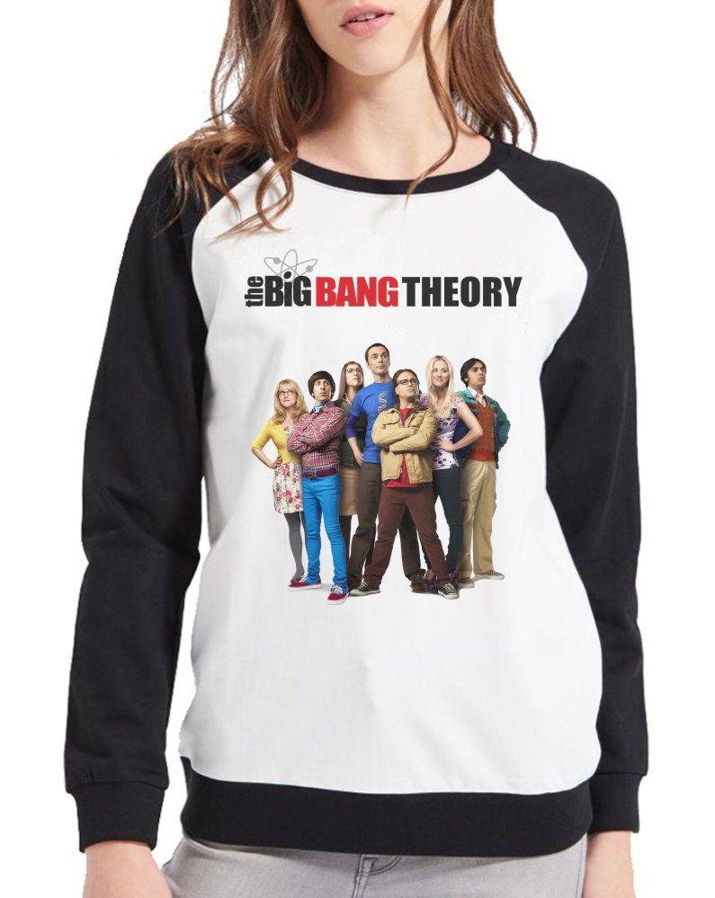 Moletom Raglan Feminino The Big Bang Theory ES_129
