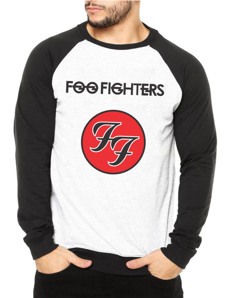 Moletom Raglan Masculino Foo Fighters ES_106