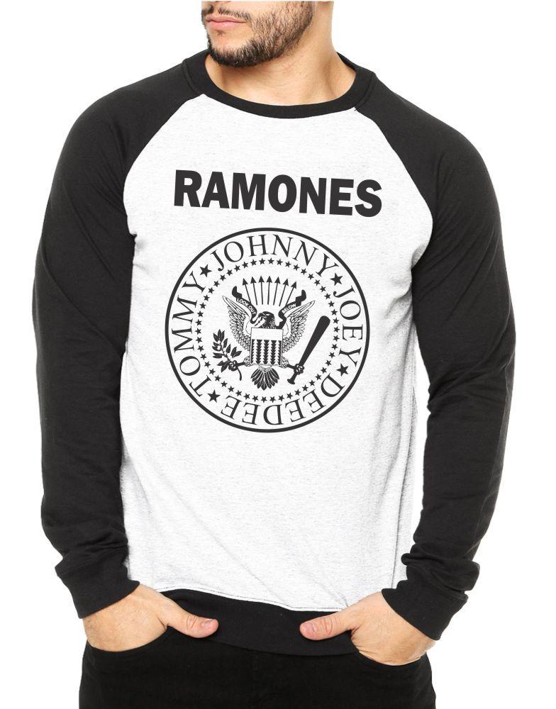 Moletom Raglan Masculino Ramones ES_068
