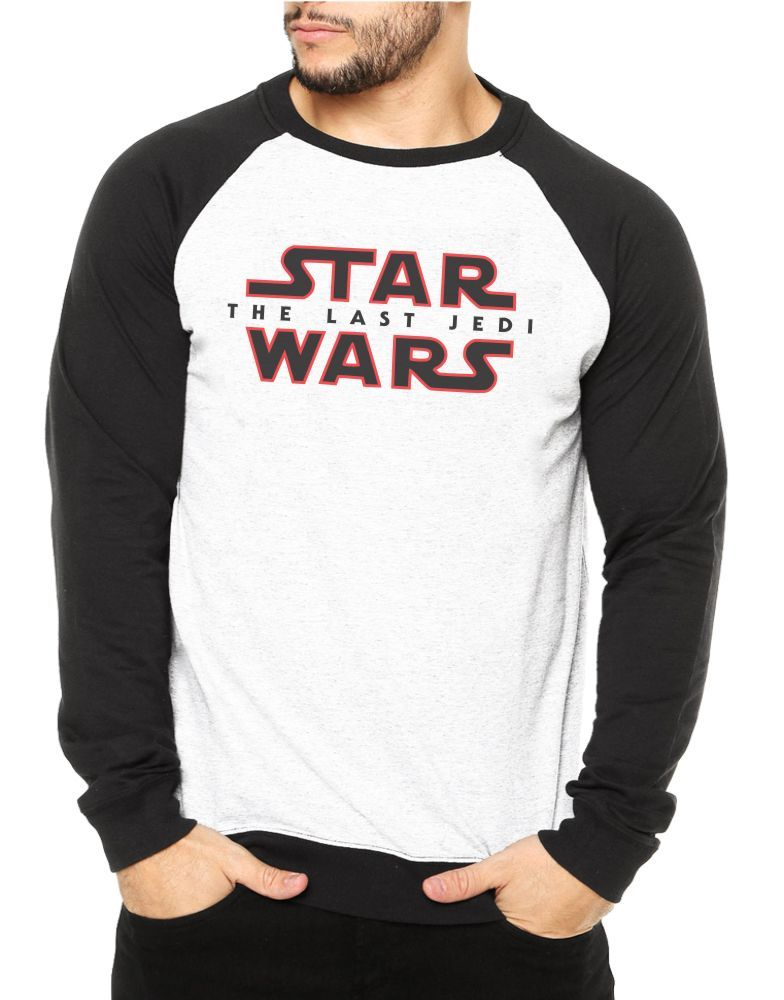 Moletom Raglan Masculino Star Wars - The Last Jedi ES_084