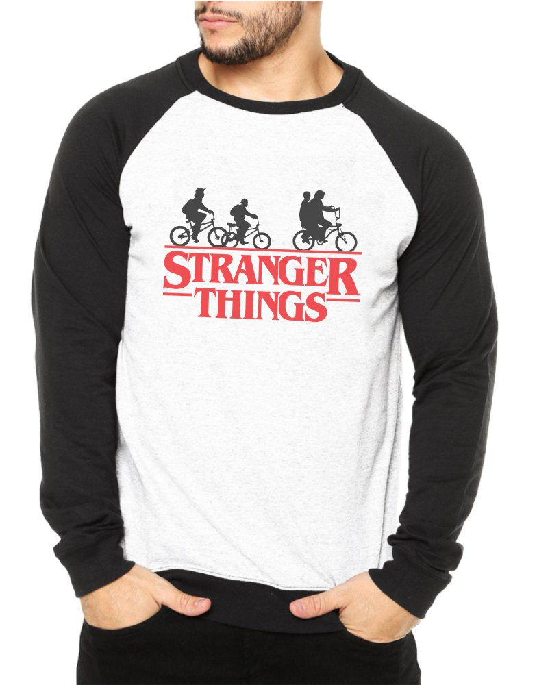 Moletom Raglan Masculino Stranger Things ES_096