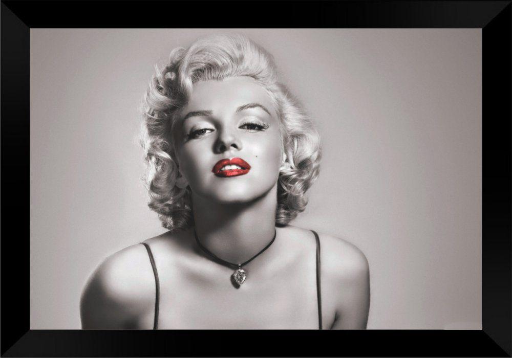 Quadro Decorativo Marilyn Monroe MDF 50 x 35 P024