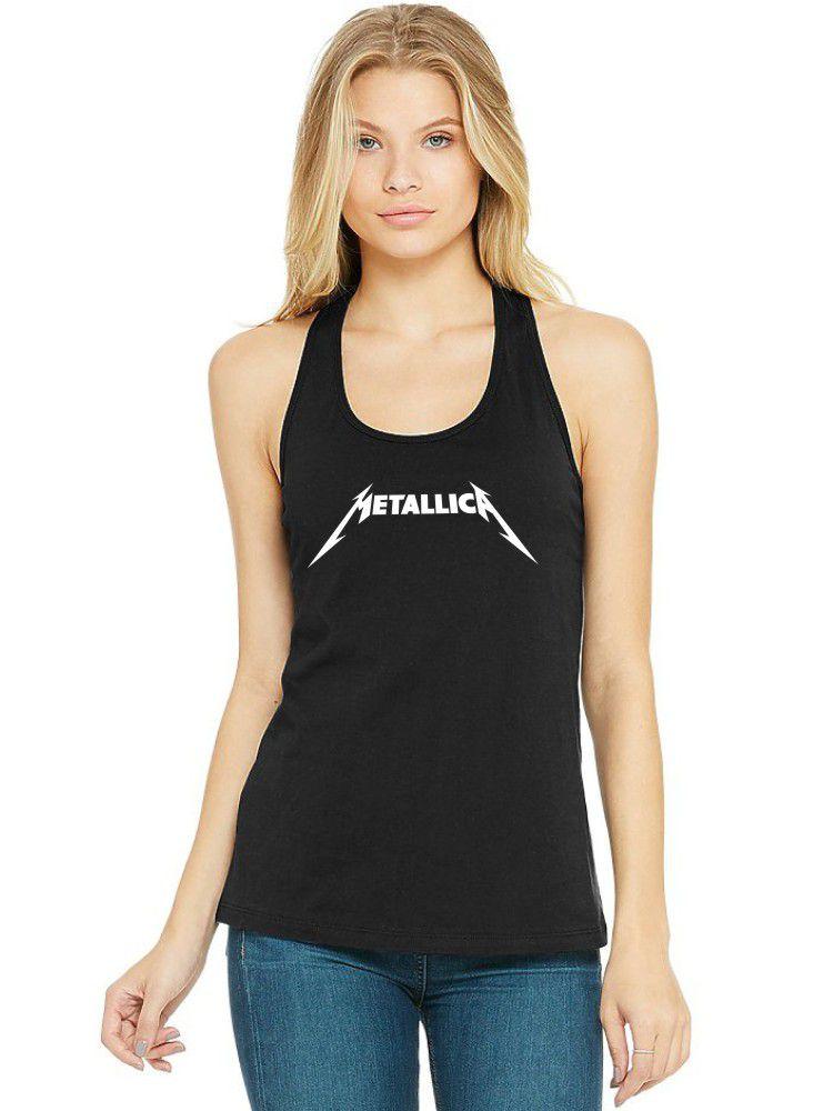 Regata Feminina Algodão Metallica ER_022