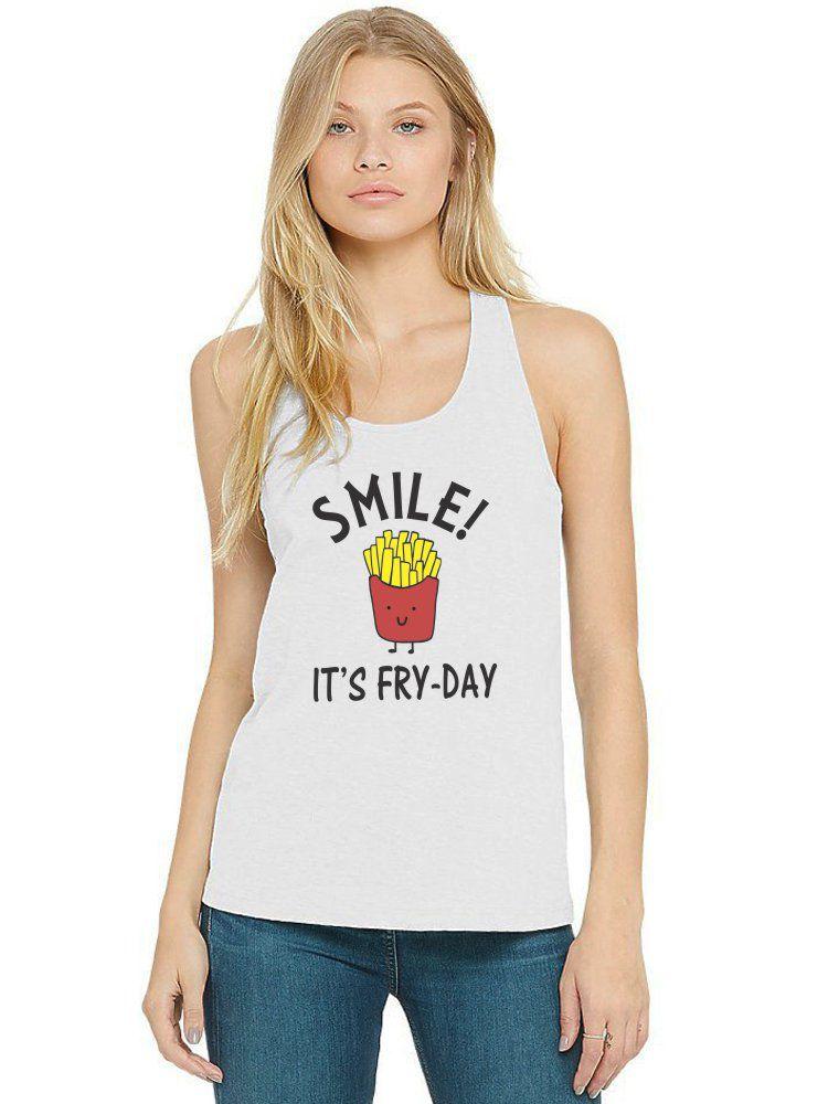Regata Feminina Divertida Smile It's Fry-Day ES_183