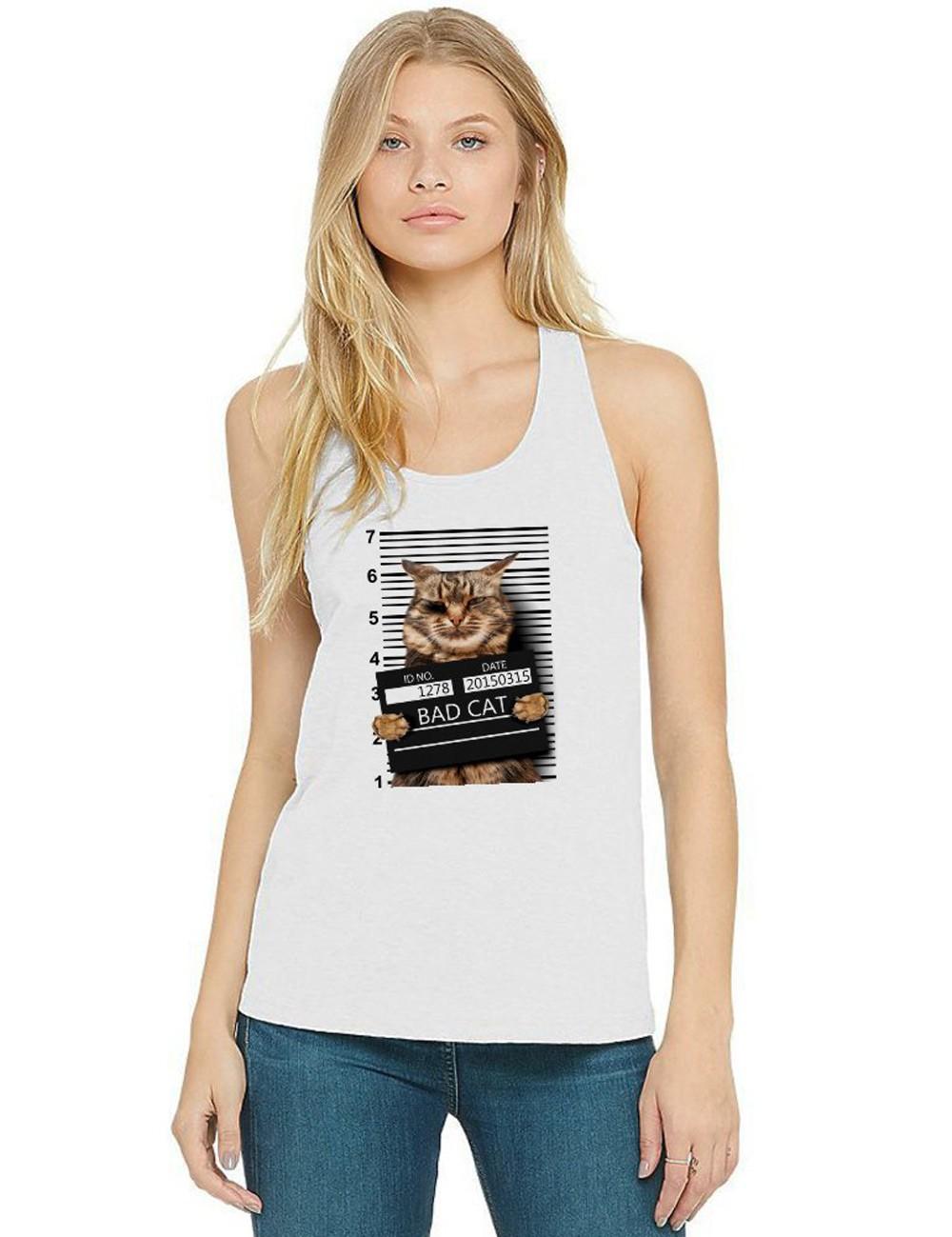 Regata Feminina Pets Bad Cat ES_196