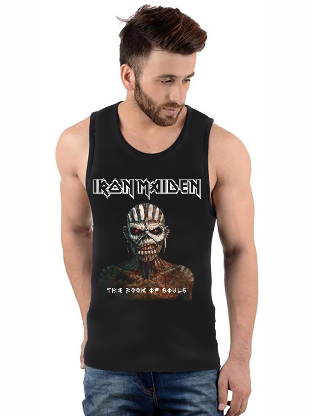 Regata Masculina Full Printed Banda Iron Maiden The Book of Souls FP_001