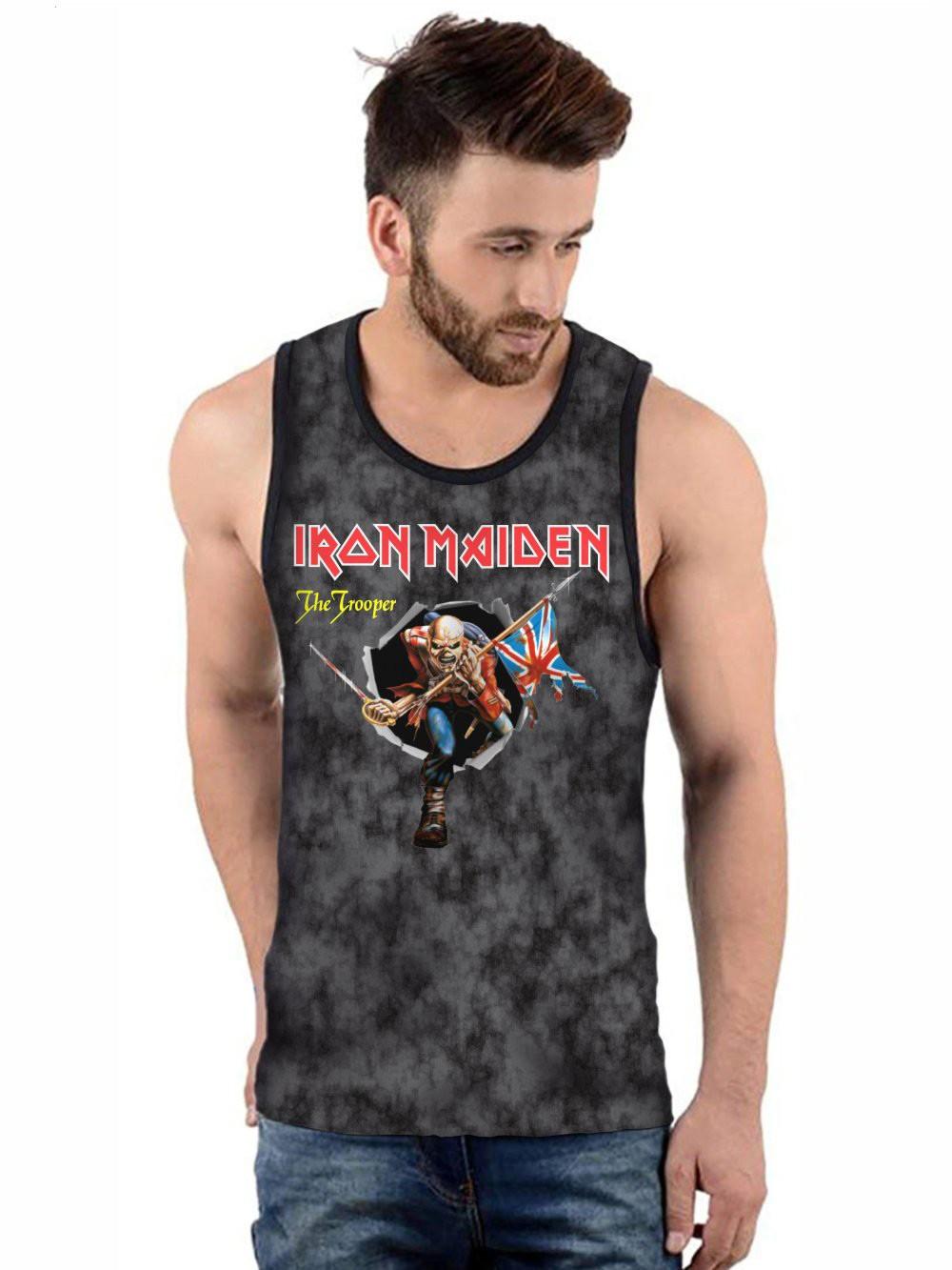 Regata Masculina Full Printed Banda Iron Maiden The Trooper FP_030