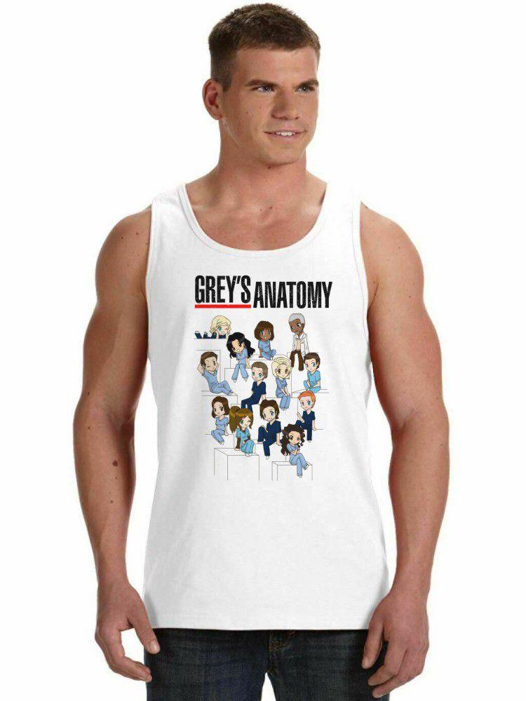 Regata Masculina Grey's Anatomy Desenho ES_140