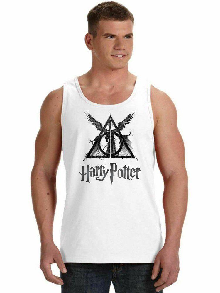 Regata Masculina Harry Potter Relíquias da Morte ES_135
