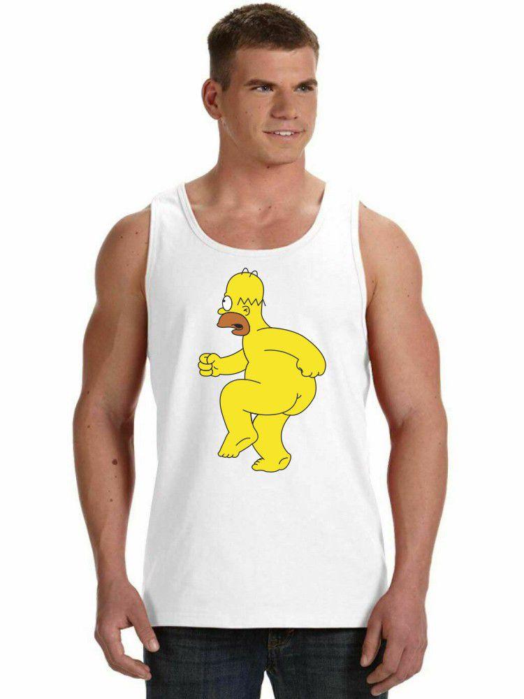 Regata Masculina Homer Simpson Pelado ES_029
